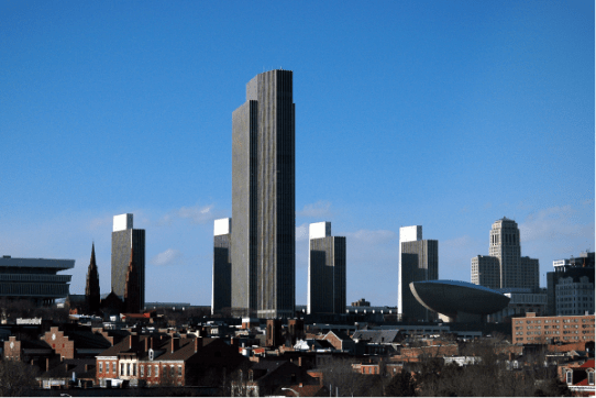 Albany NY Skyline